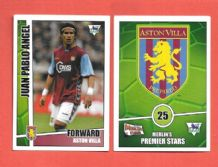 Aston Villa Juan Pablo Angel 25 (MPS)